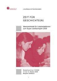 ZEIT FÜR GESCHICHTE(N) - Drehscheibe