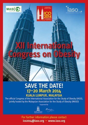 XII International Congress on Obesity