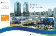 Retailer Opportunities - Metropolis at Metrotown