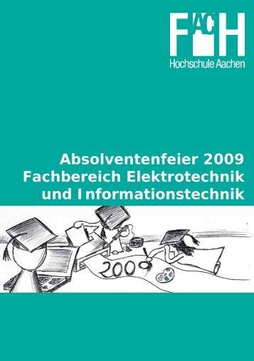 Absolventenfeier 2009 Fachbereich Elektrotechnik und ...