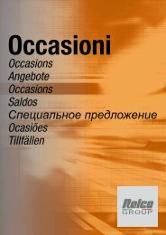 Occasions Angebote Occasions Saldos Специальное ... - Relco