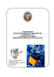 Garis Panduan Keselamatan ICT - Politeknik Kota Bharu