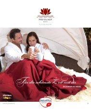 Für die schönste Zeit mit dir - Hotel Preidlhof