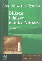 Zobacz środek (PDF) - Wydawnictwo Uniwersytetu Śląskiego ...