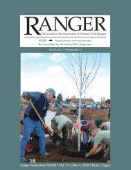 Ranger Rendezvous XXXIII • Oct. 31 – Nov. 4, 2010 • Bend, Oregon