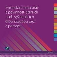 Evropská charta práv a povinností starších osob ... - Život 90