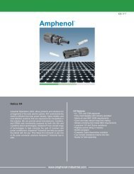Amphenol H4 Circular Solar Connector.pdf