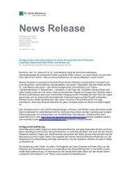 News Release - St. Jude Medical