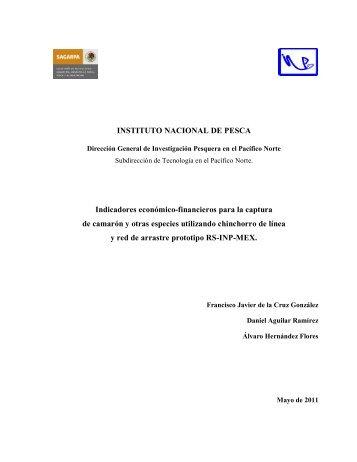 INSTITUTO NACIONAL DE PESCA Indicadores ... - Inapesca