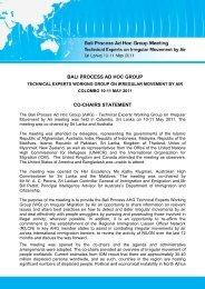 Bali Process Ad Hoc Group