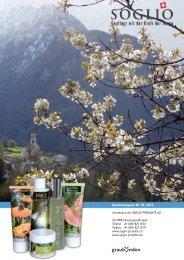 Kundenmagazin Nr. 45 (PDF) - Soglio-Produkte