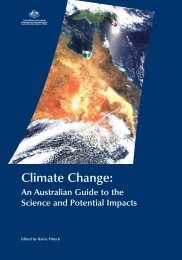 Climate Change: An Australian Guide to the Science and Potential ...