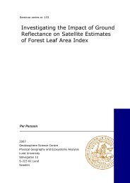Investigating the Impact of Ground Reflectance on Satellite ...