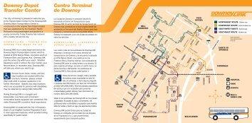 Downey Depot Transfer Center Centro Terminal de ... - City of Downey