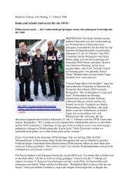 Bodo und Schofti sind bereit für die JWM - Skiclub Hinterzarten