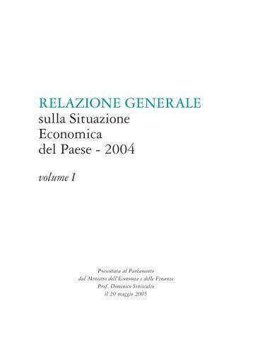 Volume I - Dirittoefinanza.it