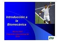 Introducción a la Biomecánica - Federación Colombiana de Tenis