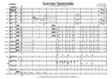 Sunrise Serenade published score - Lush Life Music
