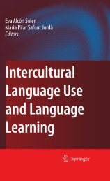 Inter-Cultural Language Use and Language Learning - Noel's ESL ...