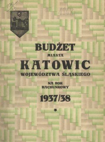 Budżet Administracyjny - Śląska Biblioteka Cyfrowa