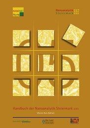 Handbuch der Nanoanalytik Steiermark 2005