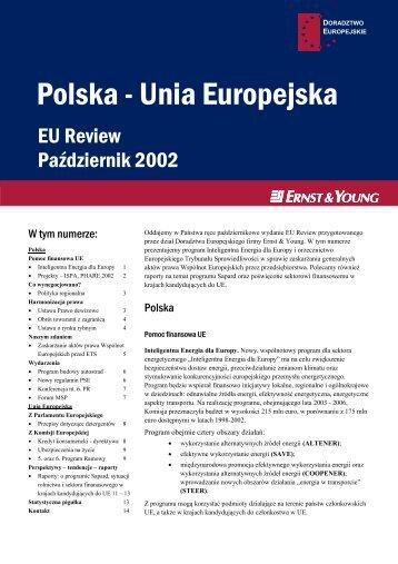 Polska - Unia Europejska - Ernst & Young