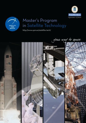 Master's Program in Satellite Technology - Master in Space and ...