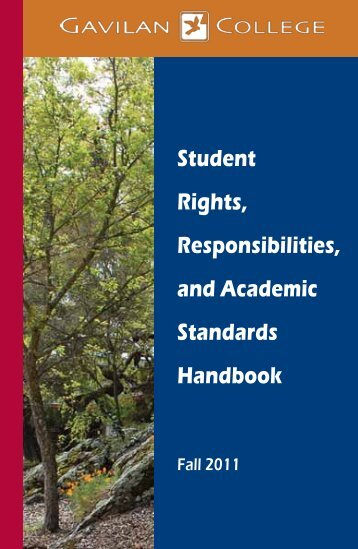 Student Rights, Responsibilities, and Academic ... - Gavilan College