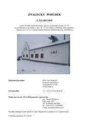 ZNALECKÝ POSUDEK č. 521/203/2010 - OKdrazby.cz
