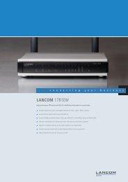 LANCOM 1781EW - LANCOM Systems