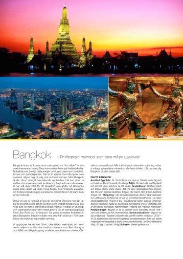 Bangkok - Solresor