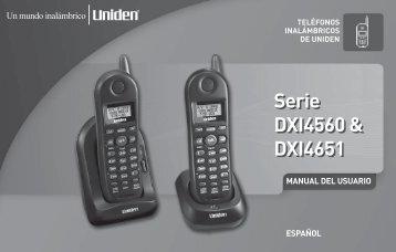 Serie DXI4560 & DXI4651 Serie DXI4560 & DXI4651
