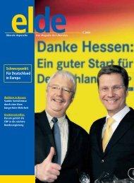 Ausgabe 1 | 2009 - Elde Online