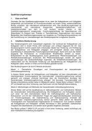 Qualifizierungskonzept - Transnationale Soziale Unterstützung