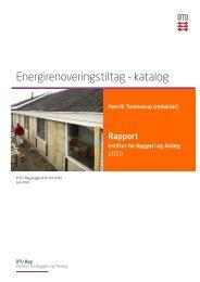 Energirenovering af typiske bygninger - DTU Byg - Danmarks ...