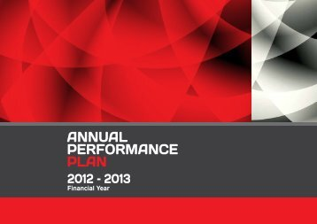 Annual Performance Plan 2012 - 2013 - Department of Labour