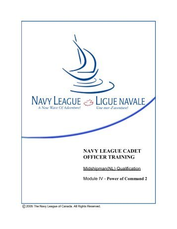 Power of Command II - The Navy League of Canada