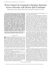Power Control for Cooperative Dynamic Spectrum ... - CiteSeerX