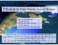 Roadmap for Future Satellite Gravity Missions - Group on Earth ...