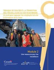 Module 2 : Une ressources pour les travailleurs - MiHR