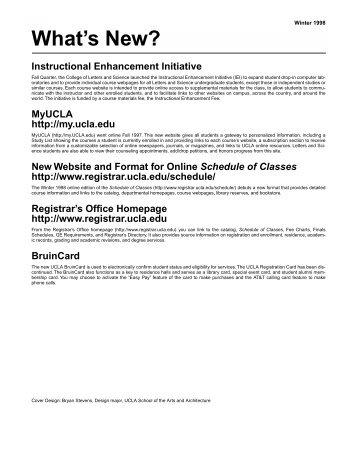Download - Registrar - UCLA