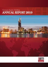 VEH Annual Report 2010.pdf - Saigon Asset Management