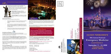 Emergency Medicine 18th Annual National - Signup4.net