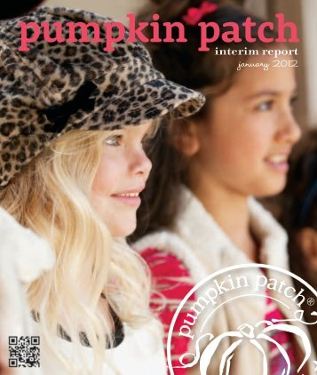 interim report january 2012 - Pumpkin Patch investor relations