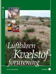 Luftbåren Kvælstof- forurening - Danmarks Miljøundersøgelser