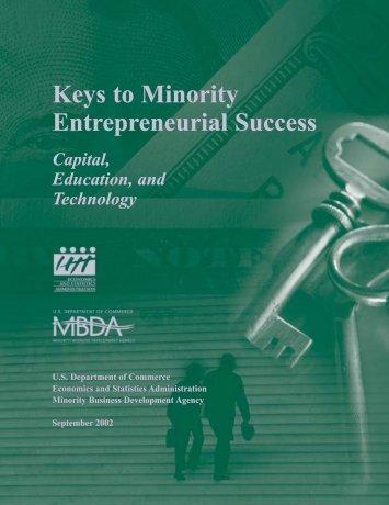 Keys to Minority Entrepreneurial Success