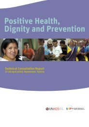 Positive Health,Dignity and Prevention - unaids