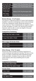 United States Masters Swimming - YMCA of Greater Charlotte - Page 6