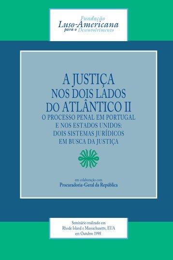 JUSTIÇA ATLANTICO II - Fundação Luso-Americana