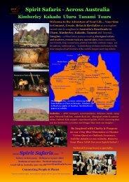 Spirit Safaris - Across Australia Kimberley Kakadu Uluru Tanami Tours